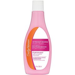 Sally Hansen Nail Polish Remover, Strengthening - 8 oz