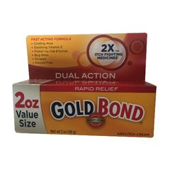 Gold Bond Medicated Anti-Itch Cream, 2-Ounce Tubes