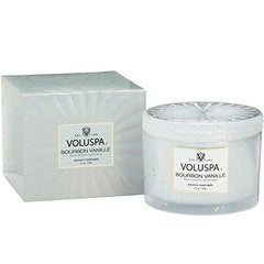 Voluspa Boxed French Bourbon Vanille Corta Maison With Lid, 11 Ounce