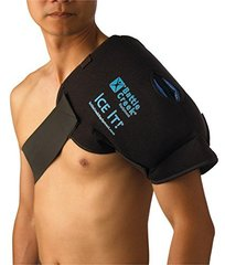 "Cold & Hot Therapy System Ice Pack Wrap for Shoulder - Ice It!® MaxCOMFORT™ (Shoulder Design; 13"" x"