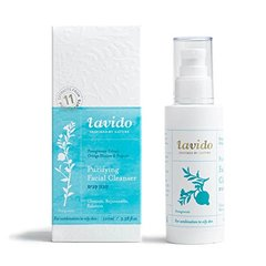 Lavido Purifying Face Cleanser with Pomegranate Extract, Orange Blossom & Propolis