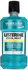 Listerine Antiseptic Mouthwash, Cool Mint, 500ml
