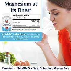 KAL - Magnesium Glycinate 400, 180 tablets