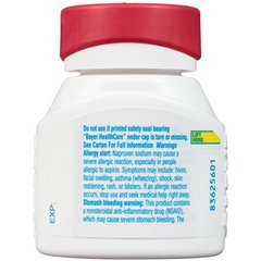 Aleve Gelcaps with Soft Grip® Athritis Cap, Naproxen Sodium, 220mg (NSAID) Pain Reliever/Fever Redu
