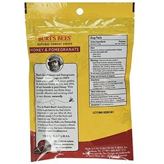Burts Throat Drops Hny/Pm Size 20ct Burts Throat Drops Honey Pomegranate 20ct