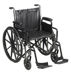 Silver Sport VI Heavy Duty Wheelchair SSP618DDA-ELR