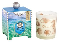Michel Design Works Gift Boxed Soy Wax Candle, 14-Ounce, Beach