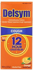 Delsym Adult Orange 5z  12 Hour Orange Cough Suppressant