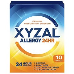 Xyzal Allergy Tablet, 10 Count
