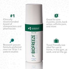Biofreeze Pain Reliever Gel for Muscle, Joint, and Arthritis Pain, Cooling Topical Analgesic Cream,