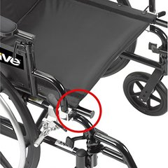 Viper Plus GT Wheelchair PLA416FBFAARAD-SF