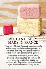 Pre de Provence Artisanal French Soap Bar Enriched with Shea Butter, Quad-Milled For A Smooth & Ric