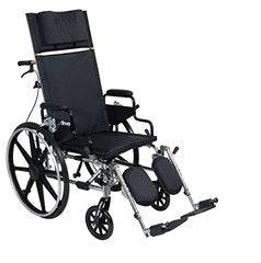 Viper Plus Reclining Wheelchair PLA416RBDFA