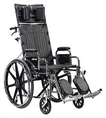 Deluxe Sentra Full Reclining Wheelchair STD22RBDDA