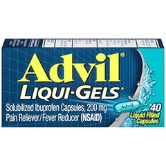 Advil Liqui-Gels (40 Count) Pain Reliever /Fever Reducer