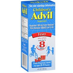 Advil Child Fever Liquid Berry 4oz