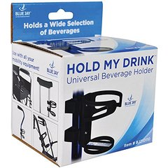 Hold My Drink - Universal Beverage Holder - Unique Design w/ Flexible Top