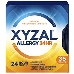 Xyzal Allergy Tablet, 35 Count
