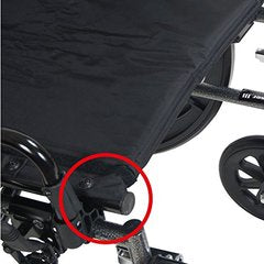 Viper Plus Reclining Wheelchair PLA418RBDFA