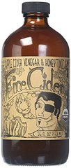Fire Cider Apple Cider Vinegar and Honey Tonic, Original, 16 oz