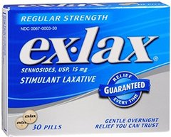 Ex-Lax Pills Regular Strength 30 Each