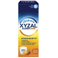 Xyzal Children's Oral Solution, 5 Ounce