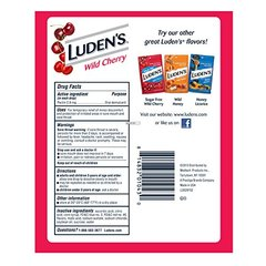 Ludens Thoat Drops, Wild Cherry, 30 Count