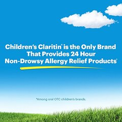 Children's Claritin 24 Hour Non-Drowsy Allergy  Grape Chewable Tablet, 5 mg, 20 Count