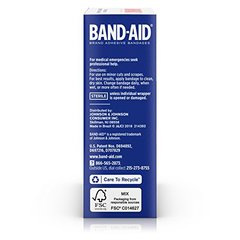 Band-Aid Brand Adhesive Bandages, Clear Perfect Blend Light All One Size, 30 Count