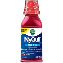 Nyquil Cherry Liquid 8z D Size 8z Nyquil Cherry Liquid 8oz