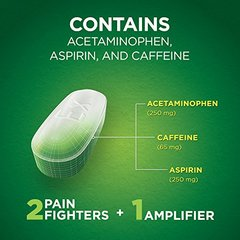 Excedrin Extra Strength Pain and Headache Relief Caplets, 24 Count