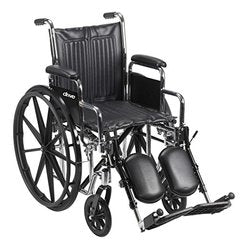 Chrome Sport Wheelchair CS18DDA-ELR