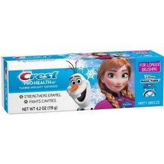Crest Pro Health Jr Disney Frozen Characters Kids Minty Breeze Toothpaste, 4.2 Ounce --