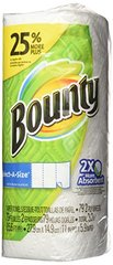 Bounty Bounty select-a-size paper towels, white, 1 large roll