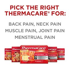 ThermaCare Lower Back & Hip Pain Therapy Heatwraps, Size Small Medium (S-M),2-Count,