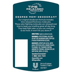 Degree Deodorant Mens Time Released Arctic Edge 3 Ounce