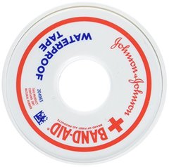 Bandaid First Aid 1/2 in X 10 yd Waterproof Tape