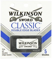 Wilkinson Sword Double Edge Razor Blade Refills for Men