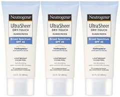 Neutrogena Ultra Sheer Dry-Touch Sunscreen, Broad Spectrum Spf 45, 3 Fl Oz