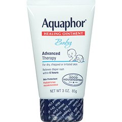 Aquaphor Baby Advanced Therapy Healing Ointment Skin Protectant 3 Ounce Tube