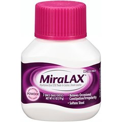 MiraLAX Laxatives, 4.1 Ounce (7 Day)