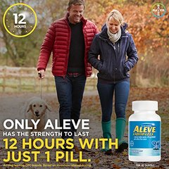 Aleve Liquid Gels with Naproxen Sodium, 220mg (NSAID) Pain Reliever/Fever Reducer, 20 Count