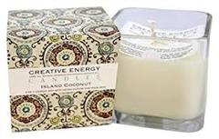 Creative Energy Candles Island Coconut