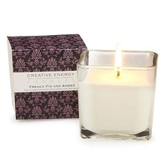Creative Energy Candles French Fig and Amber