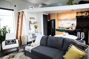 Creating a Boho Mod Loft: Meet Melanie Michaud of Graffiti Beach