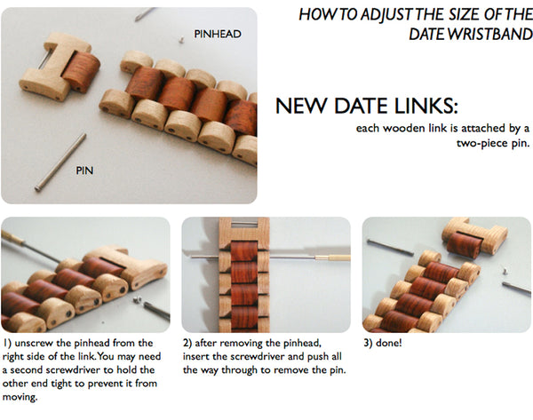 How to Change Links on WeWood Date Watch