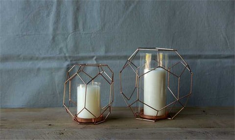 Rose Gold Votives