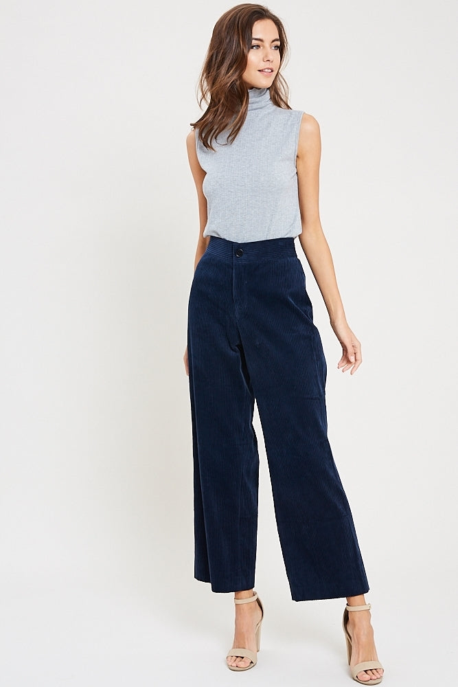 The Jenny Corduroy Button Front Pants