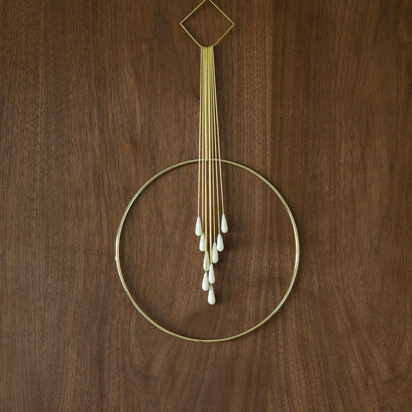Circle No. 4 Wall Hanging by Verre Modern