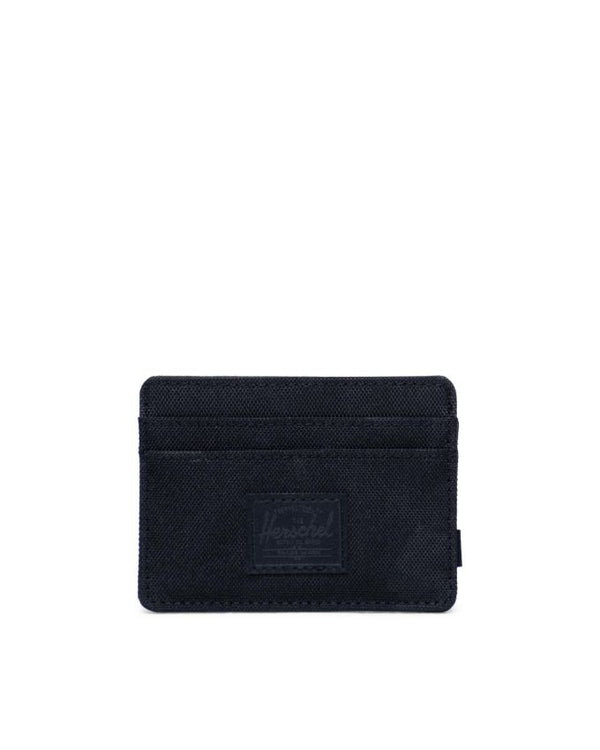 Charlie Black/Tonal Camo Wallet Delta by Herschel Supply Co.